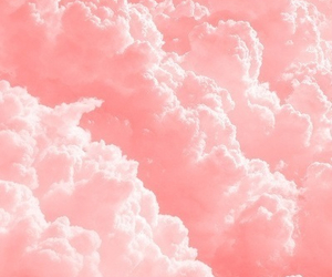 clouds, sky, and pink image