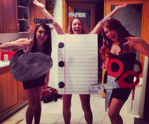 Halloween, Paper, and rock image