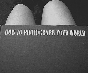 photography, book, and black and white image