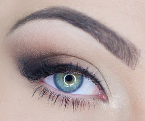 brown, eye, and make up image