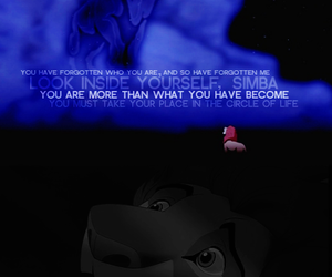 dad, simba, and disney quotes image