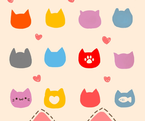 wallpaper, cat, and iphone image