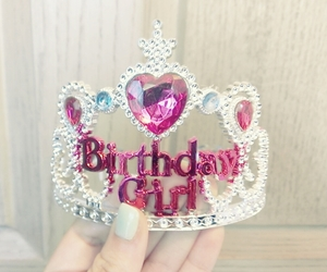 birthday, cute, and crown image