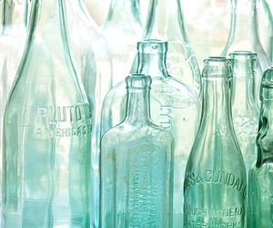 bottle and glass image