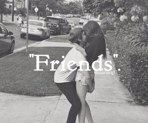 friends, girl, and love image