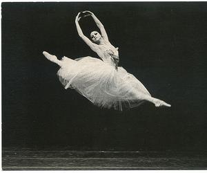 air, jump, and ballerina image