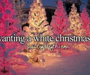 christmas, snow, and white image