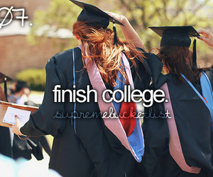 college and graduate image