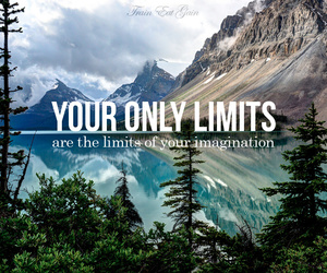 quote, limit, and imagination image