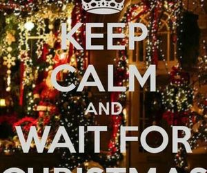 christmas, keep calm, and winter image