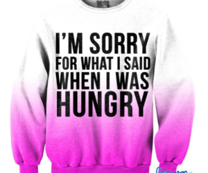 sweater and hungry image