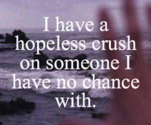 crush, love, and hopeless image