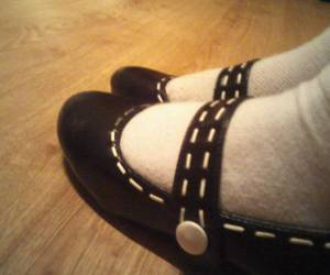fashion, ballet shoes, and pumps image