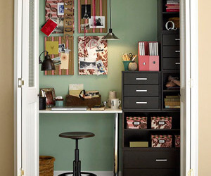 closet and office image