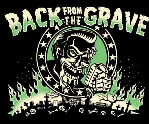 art, grave, and rockabilly image