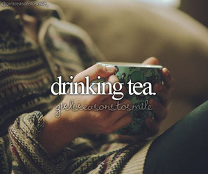 tea, winter, and drink image