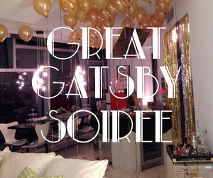 baloons, golden, and oldschool image