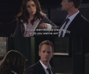 barney, game, and how i met your mother image