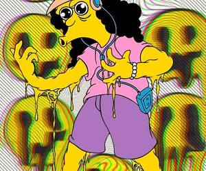 otto, simpsons, and drugs image