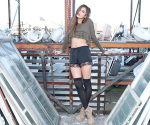 black, nasty gal, and pretty image