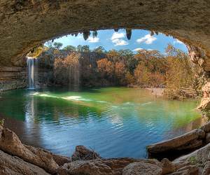 water, cave, and nature image