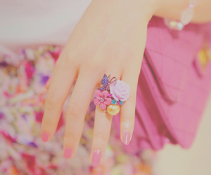 nails, pink, and nice image