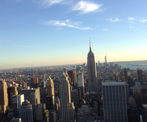 awesome, empire state, and top of the rock image