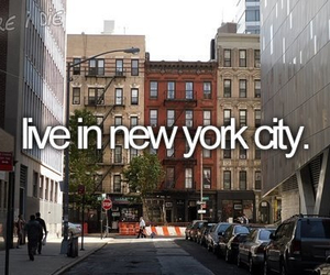 new york, before i die, and city image