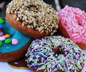 donuts, yummy, and love image