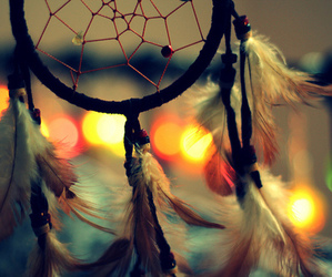 Dream, dreamcatcher, and light image