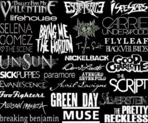 bands, music, and music equals life image