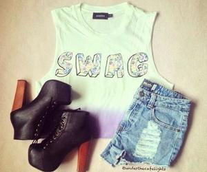 fashion, swag, and clothes image