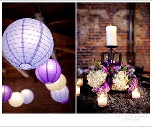 candle, centerpiece, and flowers image