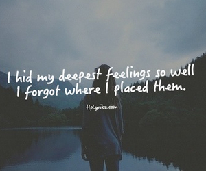 quote, feelings, and deep image
