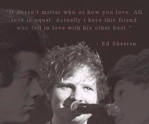 ed sheeran, larry stylinson, and louis tomlinson image