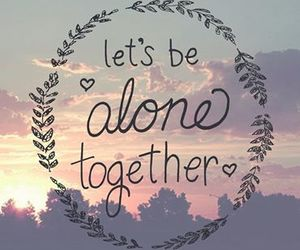 alone, fall out boy, and together image