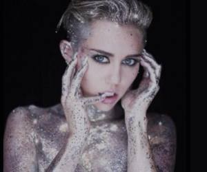 beautiful, miley, and music image