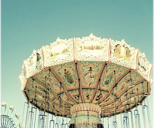antique, color, and rides image