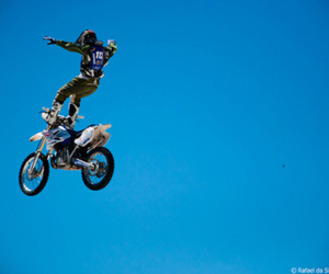 dirtbike, handsome, and fmx image