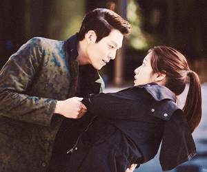 the heirs, park shin hye, and kim woo bin image