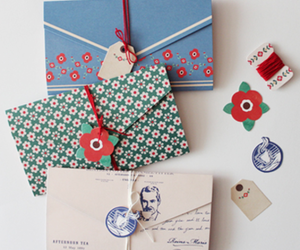 envelope, stationery, and cute image