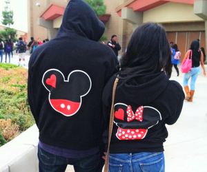 couple, mickey, and cute image