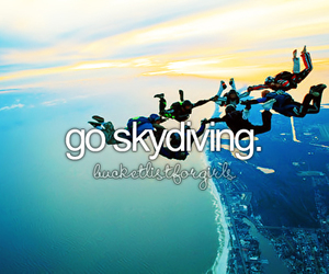 friends, sky, and fly image