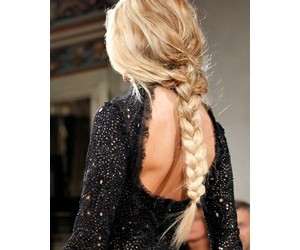 hairstyle, black, and braid image