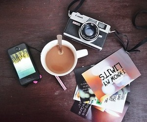 coffee, film, and photography image