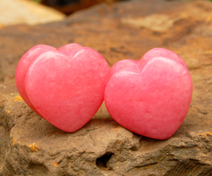 Plugs, hearts, and stone image