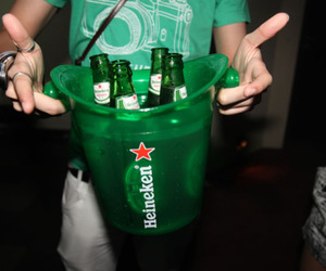 alcohol, heineken, and drink image
