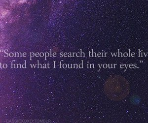 love, eyes, and quote image
