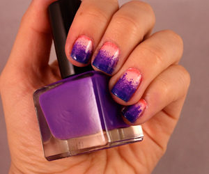 manicure, nail art, and nail polish image