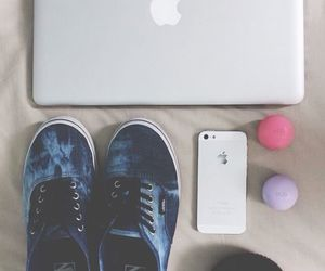 vans, iphone, and apple image